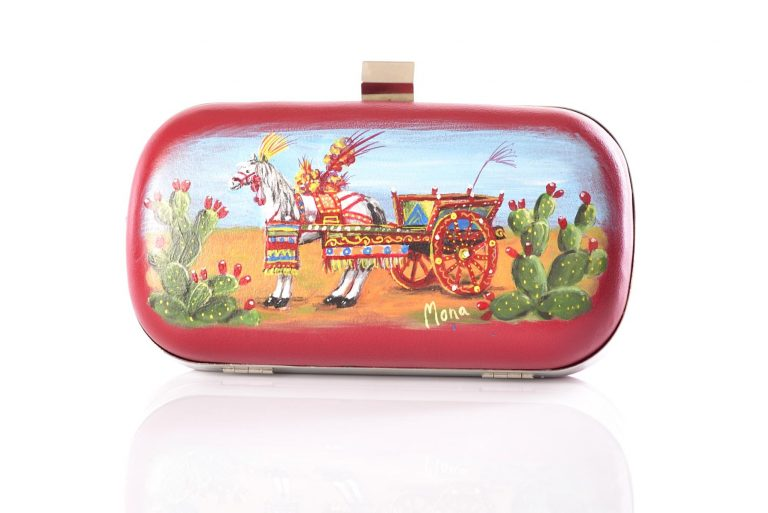"Clutch Tipica ""Carretto Siciliano"""