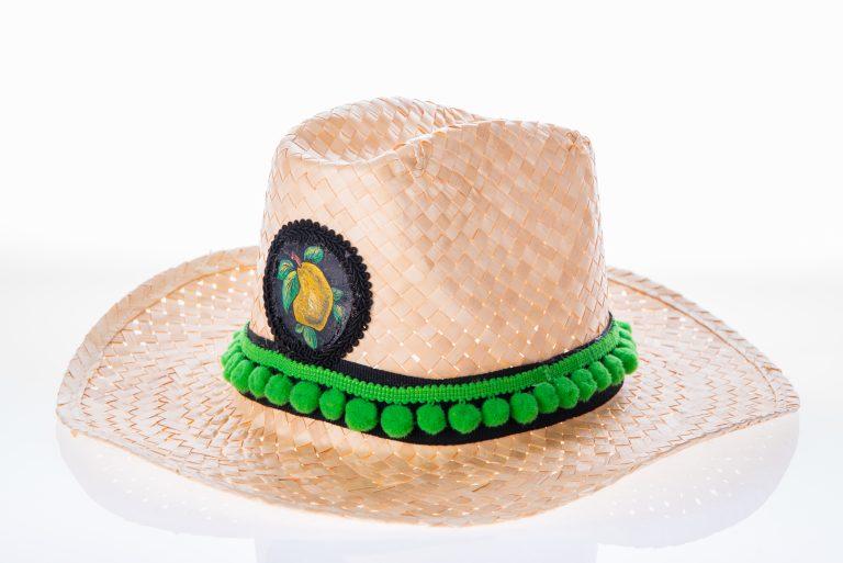 """Cappello tipico siciliano """"Frutta"""""""